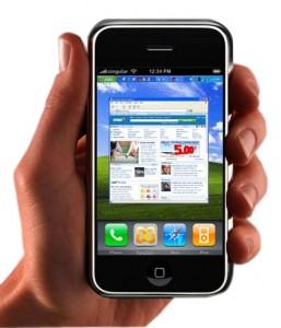 Bilde av mobiltelefon